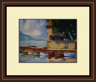 Peinture sur papier protégée - Mislabor.blogspot - KAZoART - Conseils pour prendre soin d'une oeuvre d'art