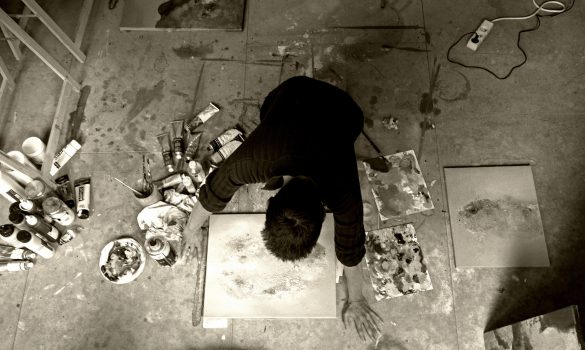 Sébastien Grenier atelier - Artiste KAZoART