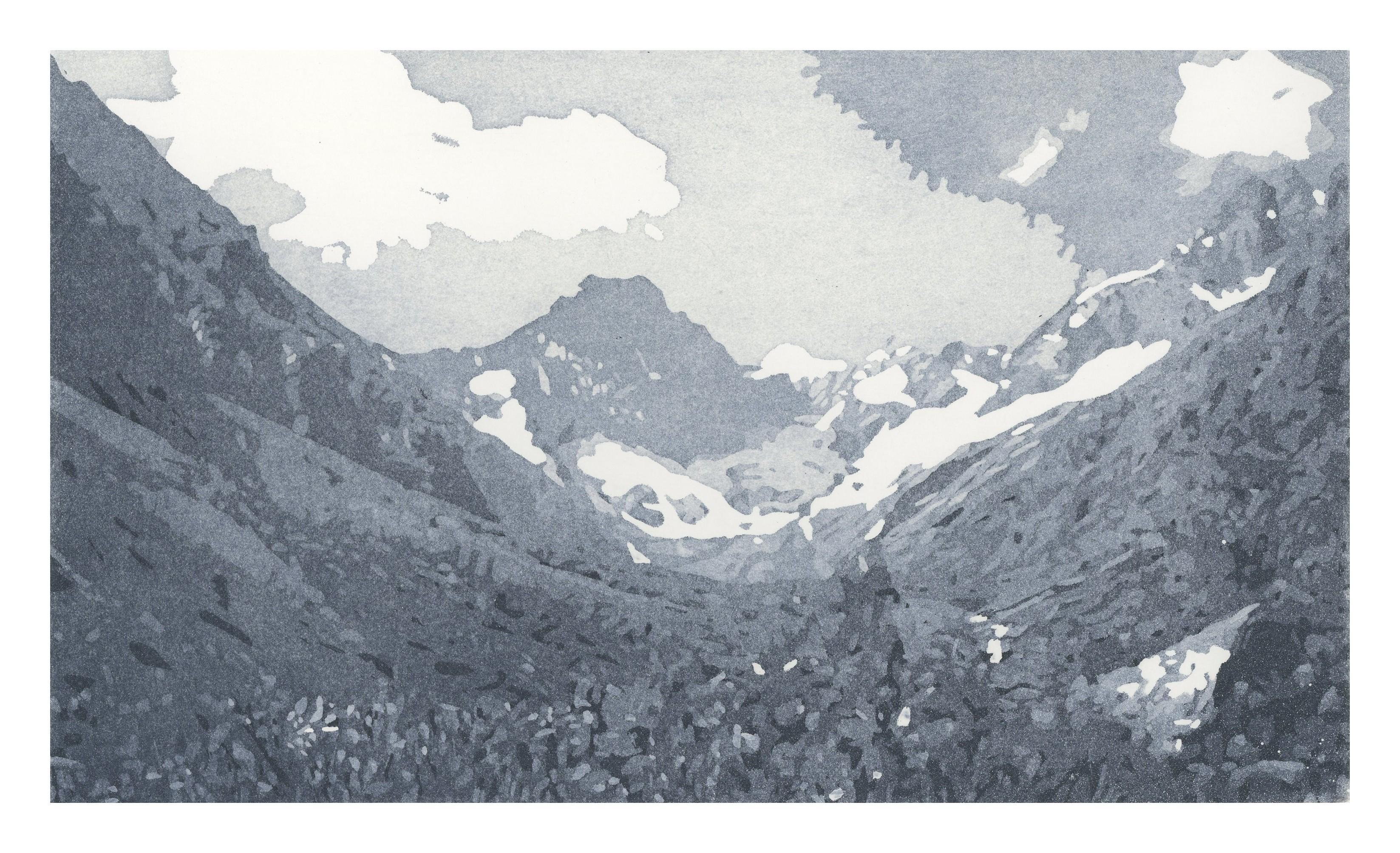Vallon des Etages - Nicole Guézou - KAZoART