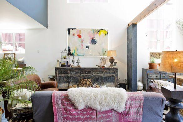 Ambiance bohème - Apartment Therapy© - KAZoART