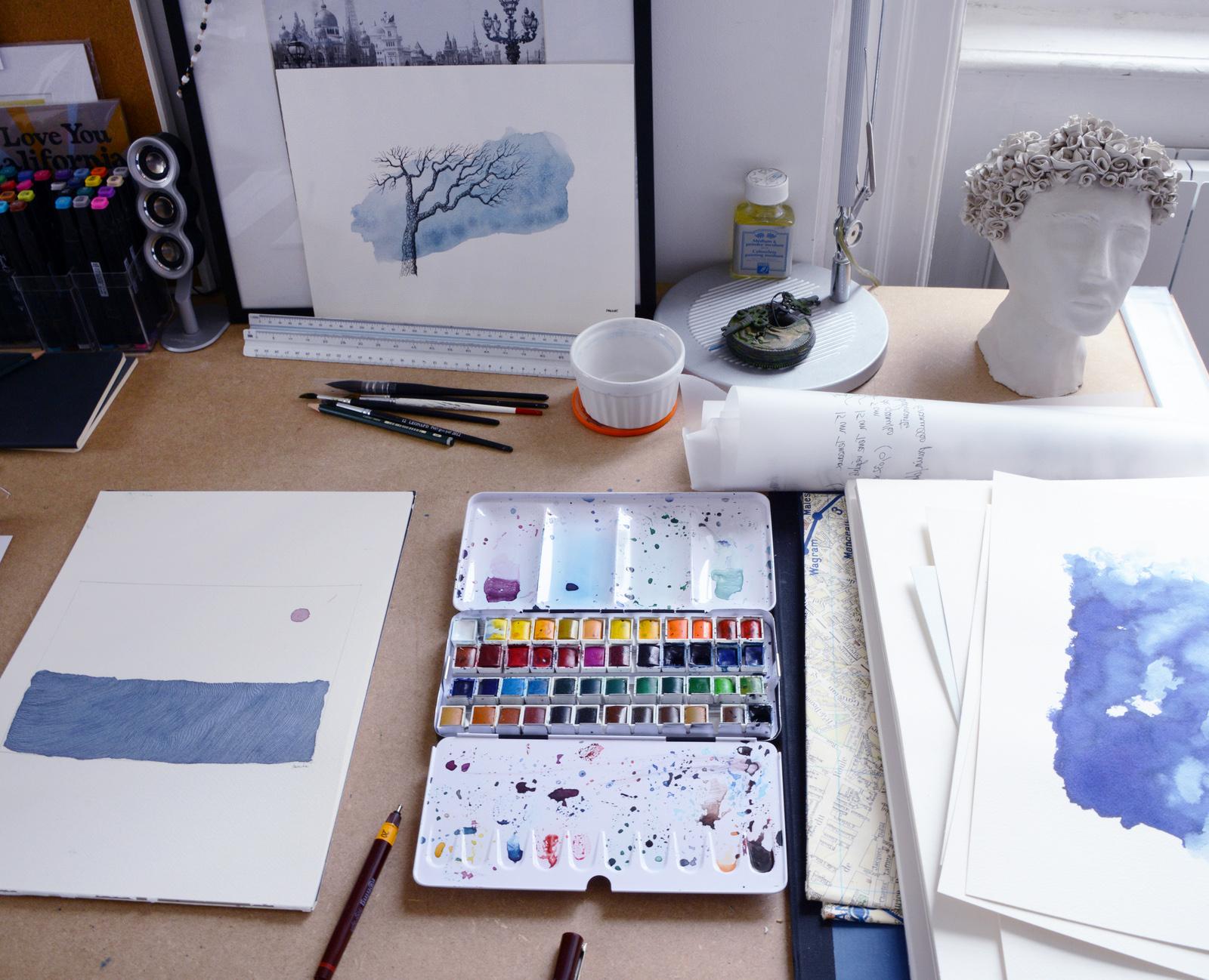 Atelier de l'artiste Dainche - KAZoART