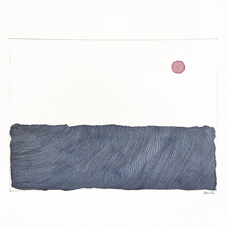 Soleil rouge - Dainche - KAZoART