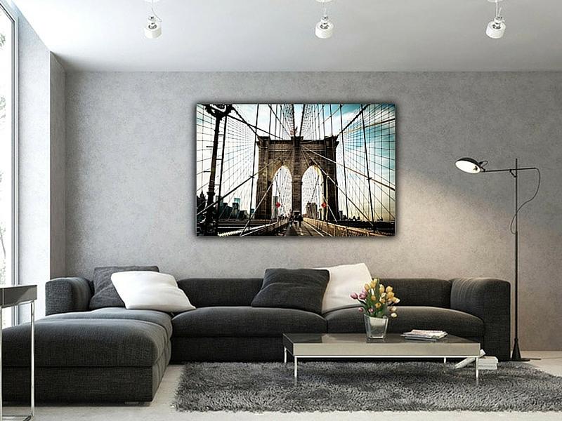 Tableau idéalement placé et éclairé - Art Wall and Co© - KAZoART