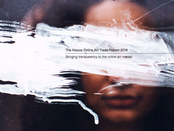 Marché de l'art en ligne Etude Hiscox 2016