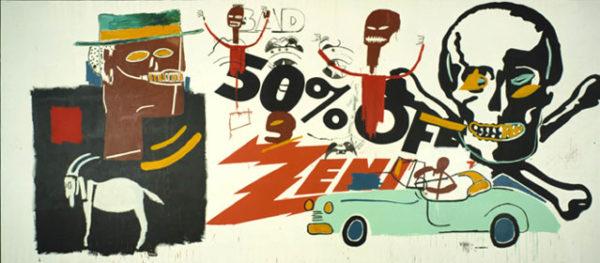 Zénith, 1985 - Jean-Michel Basquiat et Andy Warhol