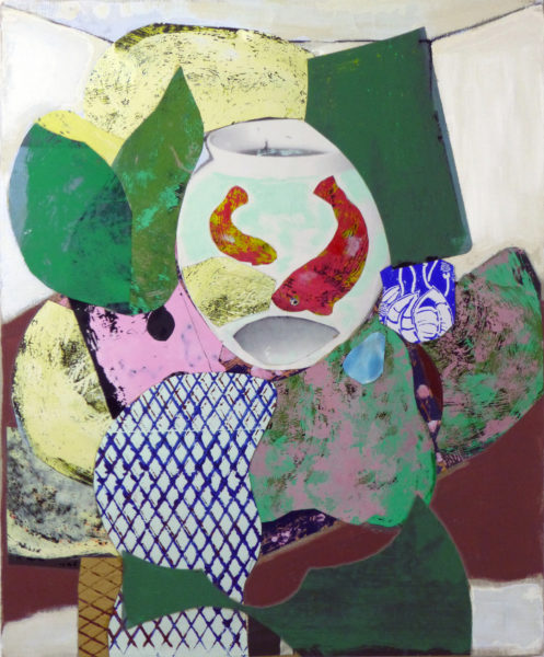 Hommage à Matisse 1, Pascal Marlin, Aquarelle (61 x 50)