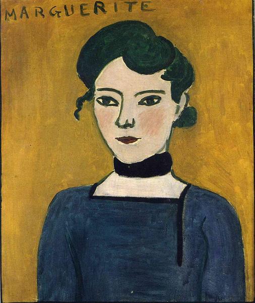 Marguerite, Matisse