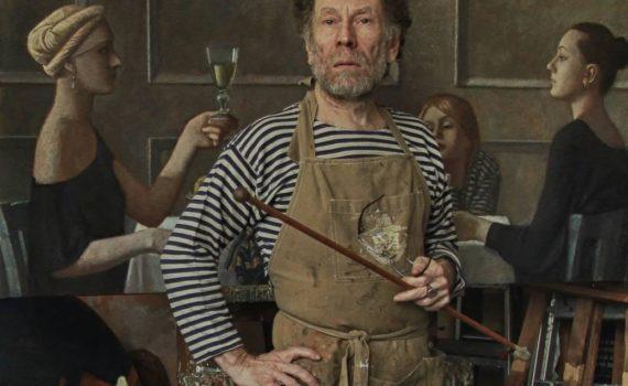 Igor B.Glik en atelier