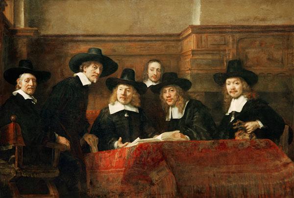Le Syndic des drapiers, Rembrandt