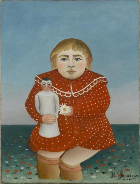 L'enfant à la poupée - Henri Rousseau