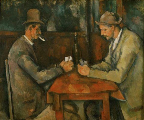 Les joueurs de cartes, Paul Cézanne, 1890-1895