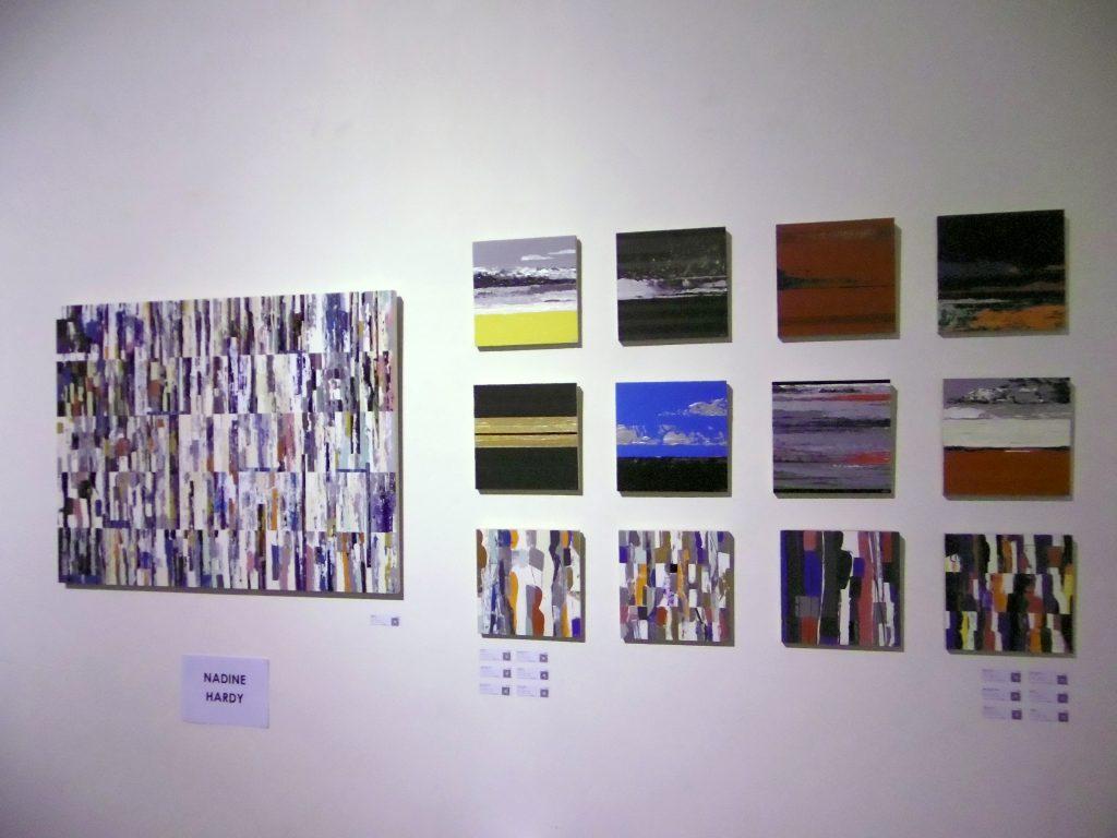 Œuvres abstraites de Nadine Hardy