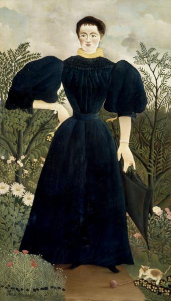 Portrait de Femme - Henri Rousseau