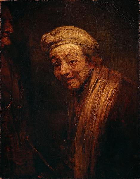 Rembrandt Harmensz. van Rijn, Autoportrait