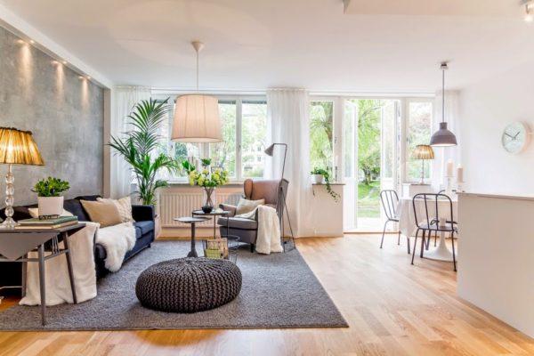 salon décoration simple et élégante