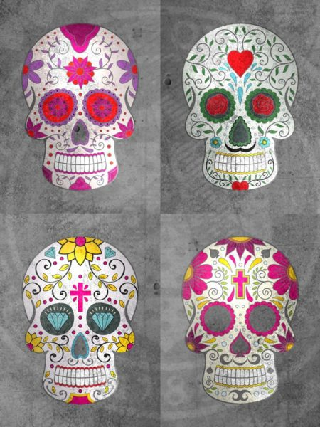4 Cráneos del azúcar 1