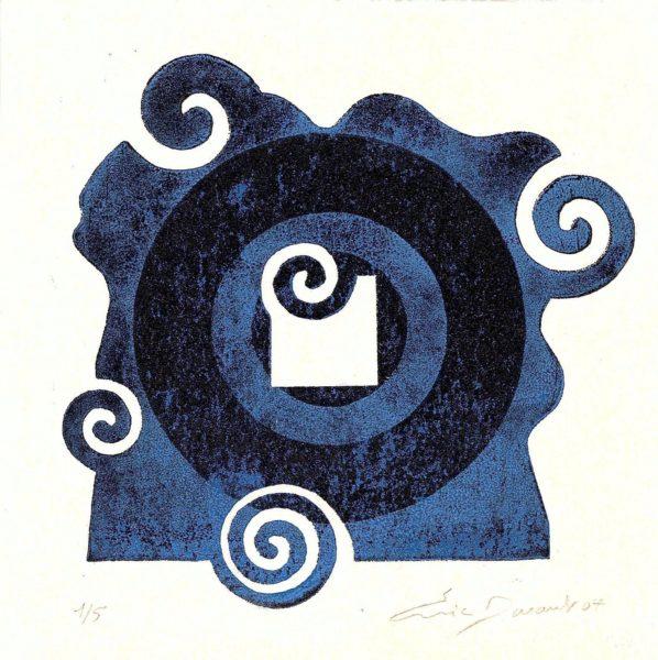 Escargot et cercle - Éric Durant