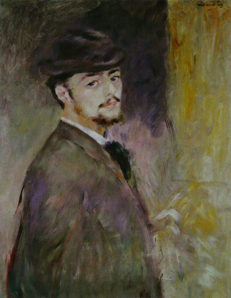 Auguste Renoir, Autoportrait, 1876, Fogg Art Museum, Cambridge (Massachusetts)