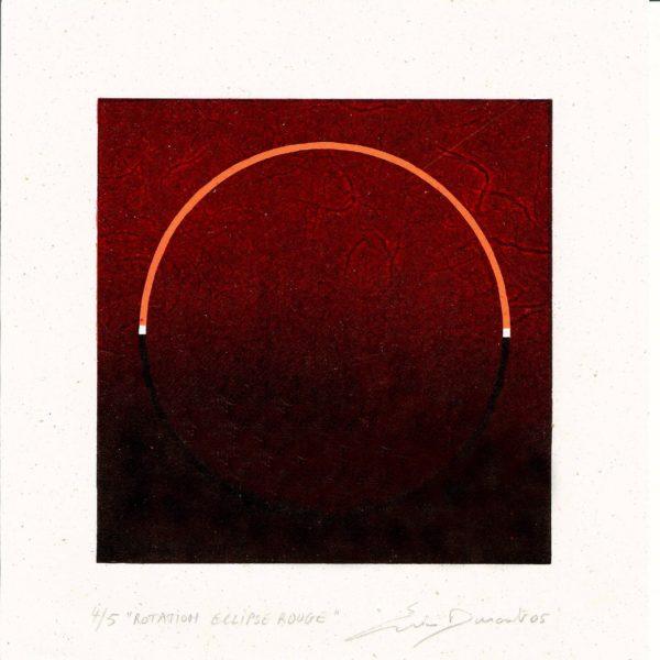 Rotation Éclipse rouge - Éric Durant