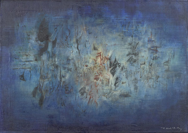 Water music, Zao Wou-Ki