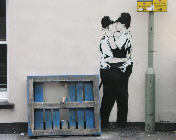 Banksy, Bristol, 2004