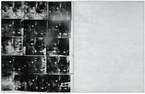 Silver Car Crash, Andy Warhol, 1963