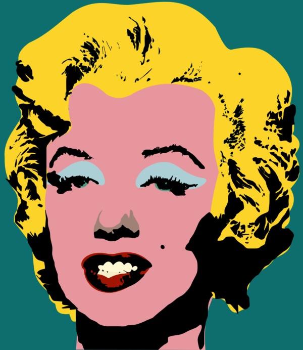 <em>Marylin Monroe</em>, Andy Warhol, 1967 © Thirddime