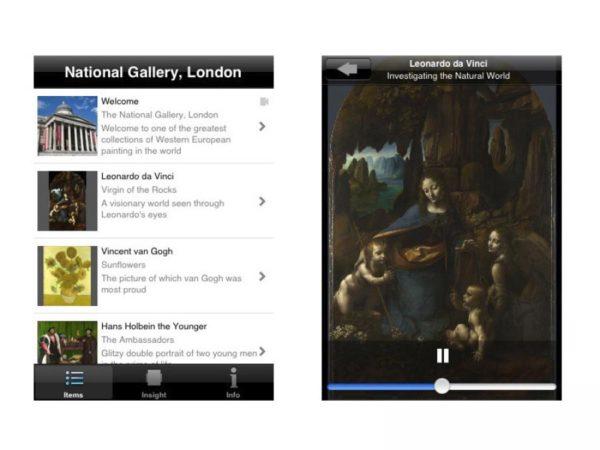 Application Love Art par la National Gallery