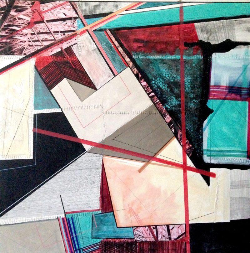 Marion Moulin Archicub, 99 x 99 cm