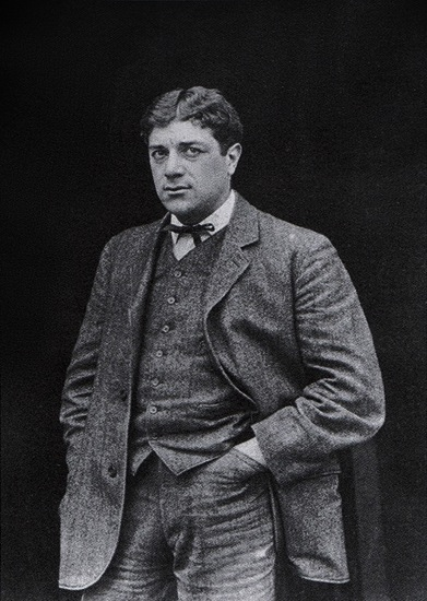 Georges Braque jeune, 1908, © georgesbraque.fr et The Architectural Record via Wikimedia Commons