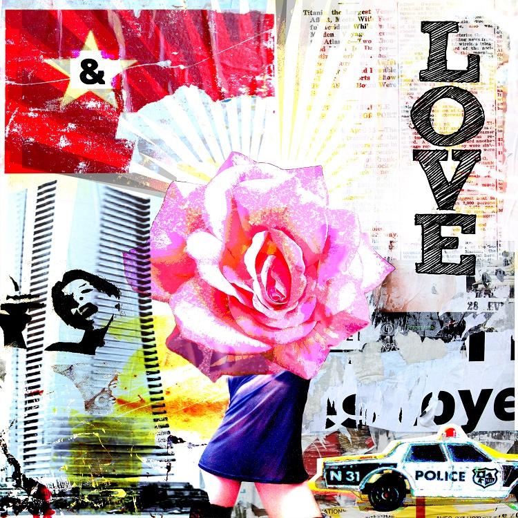Morgan Paslier, Love (technique mixte, 2011)