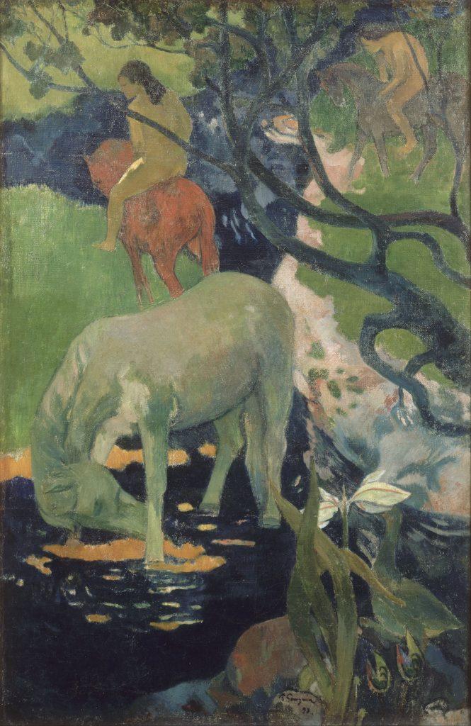 Paul Gauguin, animaux