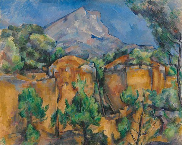 cubisme Cézanne Sainte Victoire KAZoART