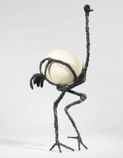 Diego Giacometti, L'Autruche, vers 1977