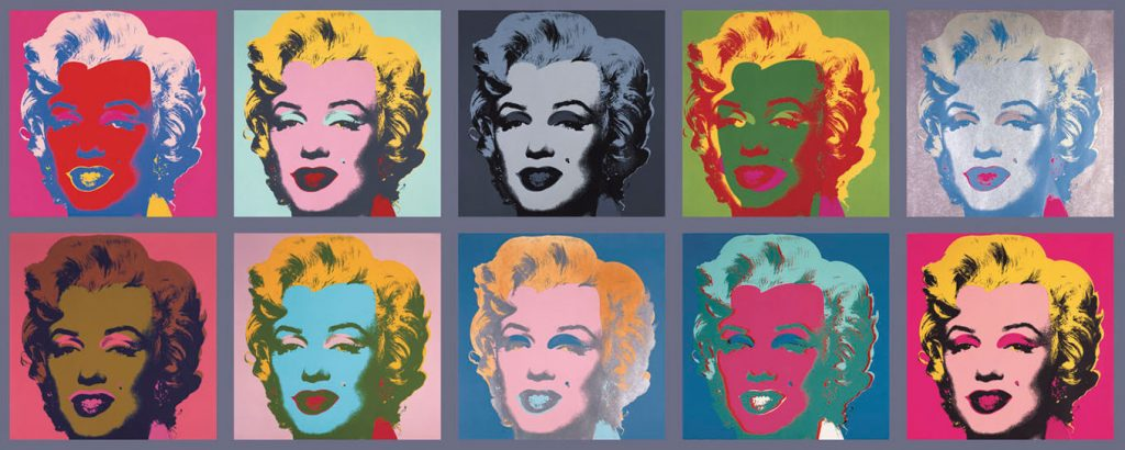 estampes kazoart marilyn