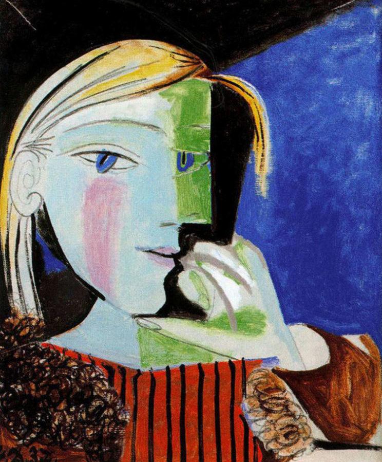 Pablo Picasso, Portrait de Marie-Thérèse Walter, 1937