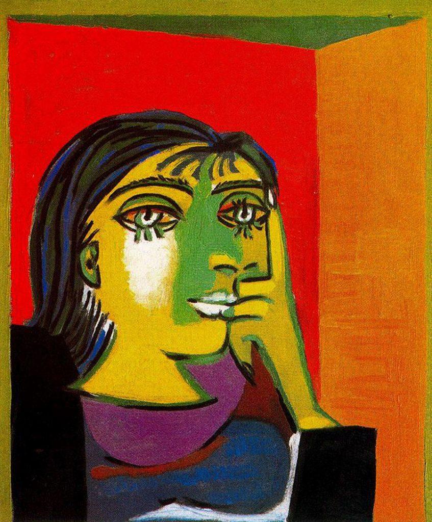 Pablo Picasso, Portrait de Dora Maar, 1937