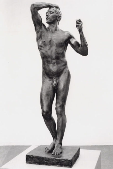 Auguste Rodin, l'Age d'Airain, 1877, Musée Rodin, bronze
