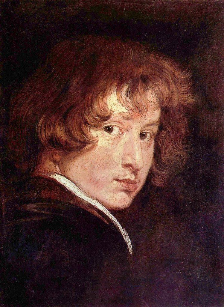 Autoportrait, 1613-14