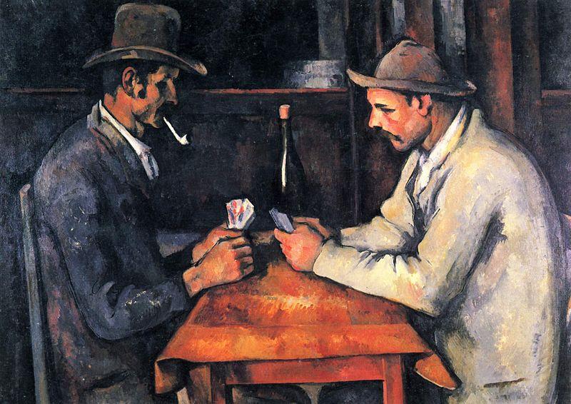 Paul Cézanne, Les joueurs de cartes, 1892-93