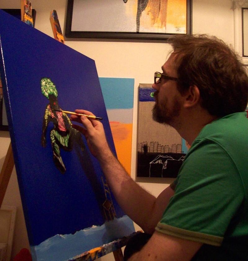 EVIAL dans son atelier