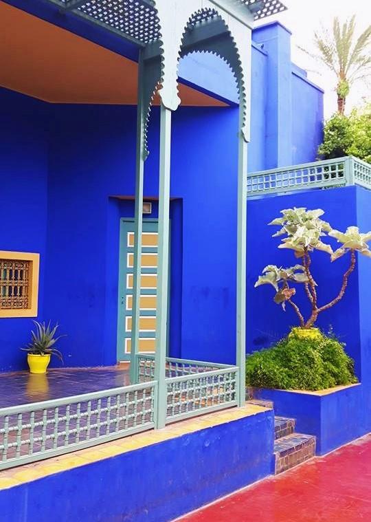 La villa Majorelle à Marrakeck