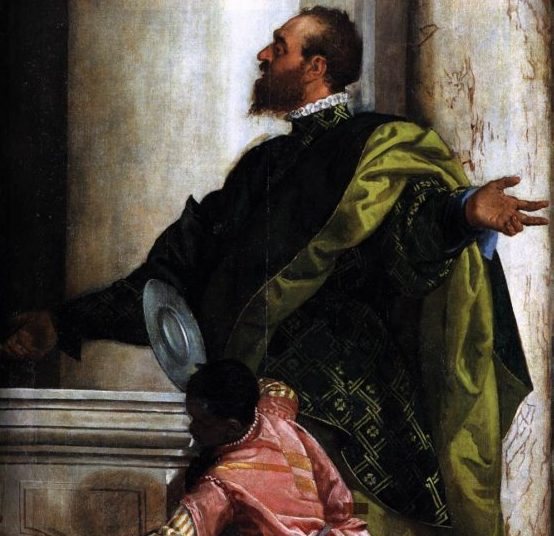 veronese-feast-in-the-house-of-levi-detail-1573-oil-on-canvas-gallerie-dell-accademia-venice-italy-2