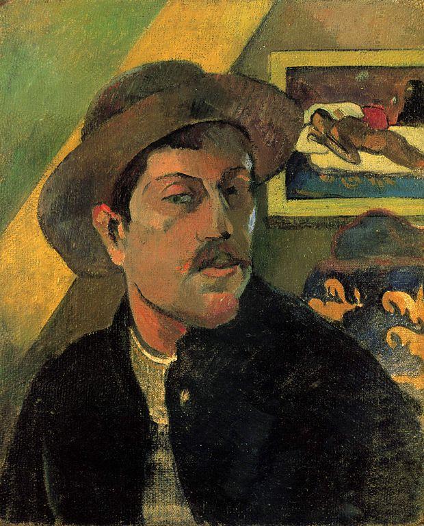 Gauguin, Autoportrait, 1893, Musée d'Orsay
