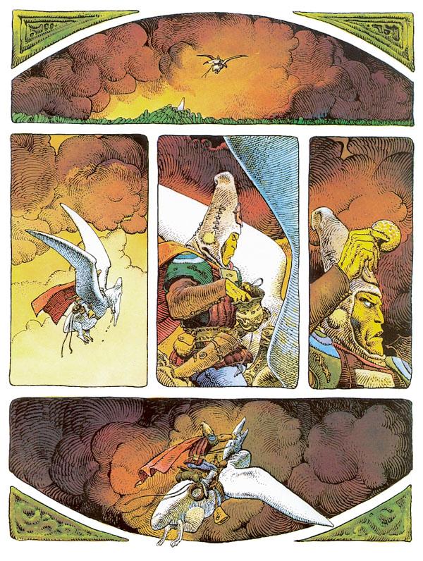 arzach kazoart bande dessinée