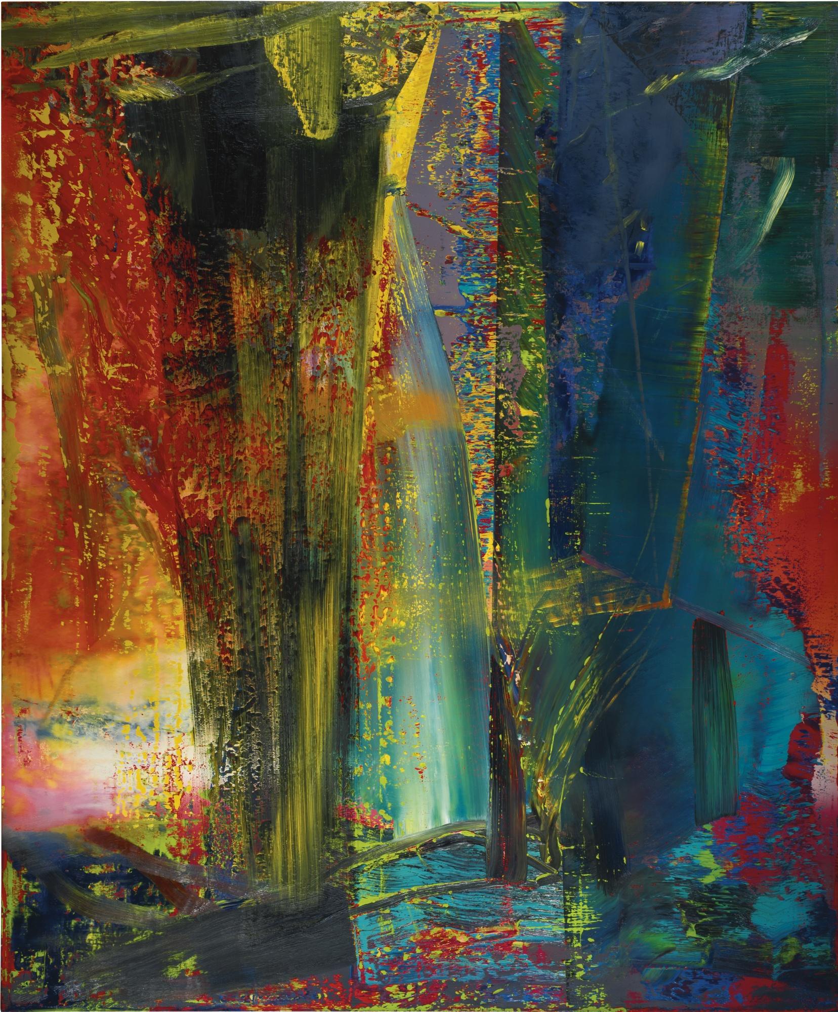 Gerhard richter un peintre photographique blog de kazoart for Combien prend un peintre au m2