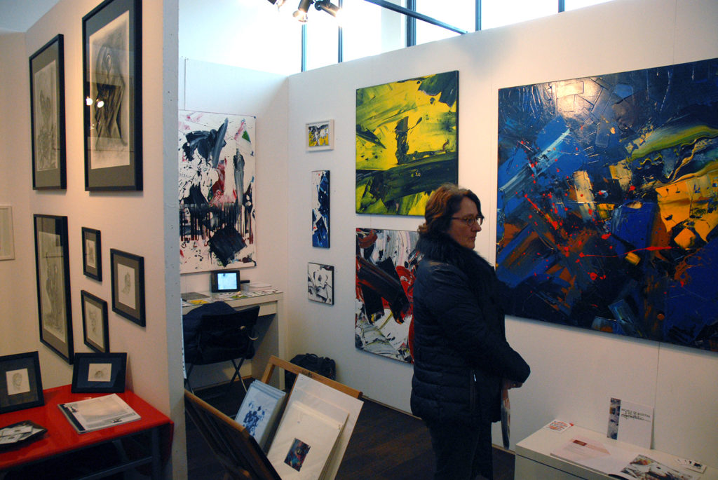grand salon d'art abordable kazoart