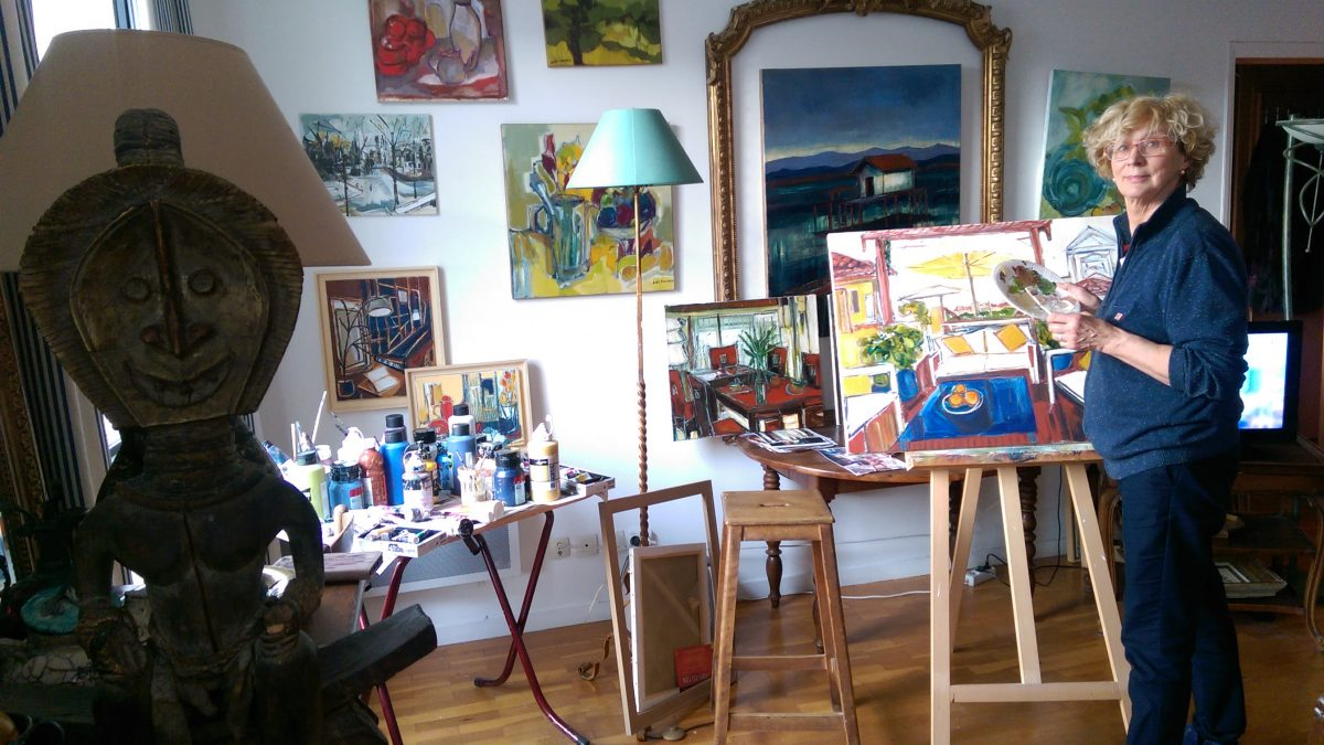 Interview artiste • Dans l'atelier de Dominique de Gaudric