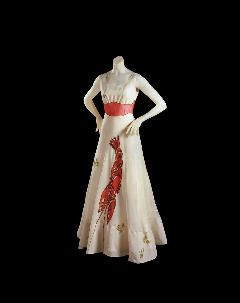 Elsa Schiaparelli & Salvador Dali, La robe homard