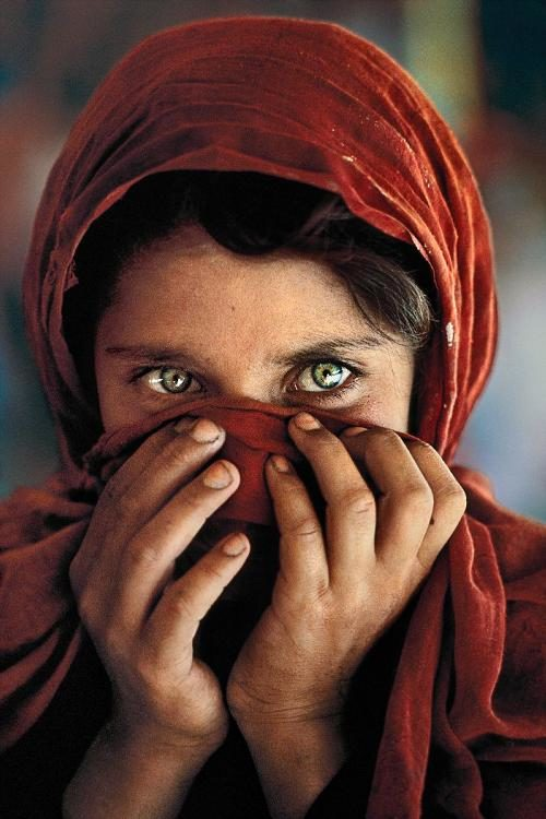 © Steeve McCurry - Jeune fille afghane, 1984 (Pakistan)